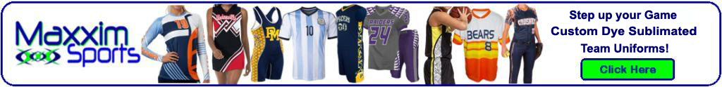 SUBLIMATED TEAM UNIFORMS