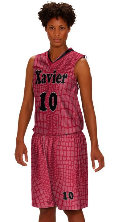 AUO Prosphere Sublimated Athletic Basketball Uniforms