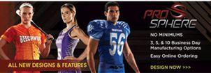 AUO-Teamwork Athletic Prosphere Sulbimated Uniforms
