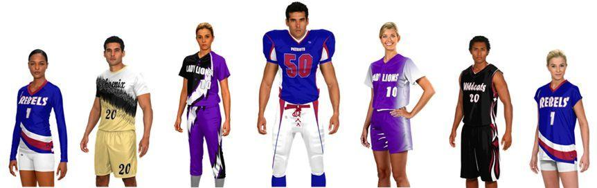 AUO - Teamwork Athletic Prosphere Sublimated Athletic Team Uniforms