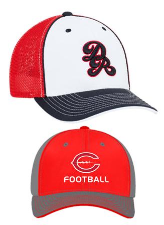 Decorated Caps