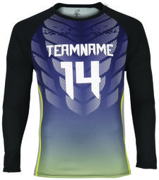 SPECTRUM COLOR GEAR MENS SUBLIMATED LONG SLEEVE RAGLAN SHIRT - 8827