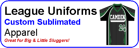 Sublimated Little League Uniforms
