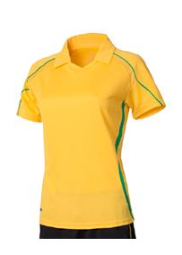 Womens Short Sleeve Polo Jersey