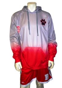 Custom Long Sleeve Hooded Volleyball Shirt