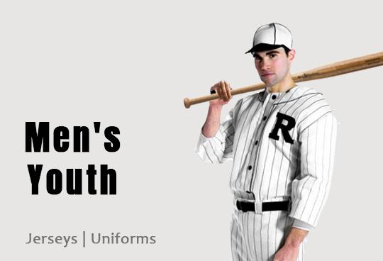 mens youth softball uniforms