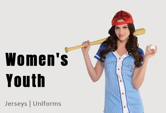 women softball uniforms