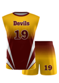 Custom Volleyball Uniforms Set